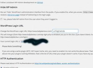 cara mengganti url halaman login wordpress
