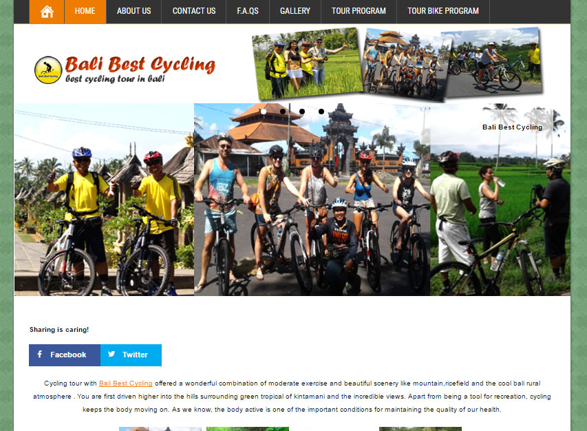 bali best cycling